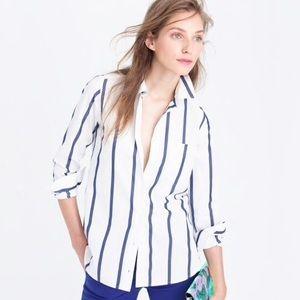 J. CREW Boy Shirt in Bold Stripe